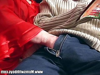 Cougar Teacher Sucking Mature Mammy Granny Hot Old and Young