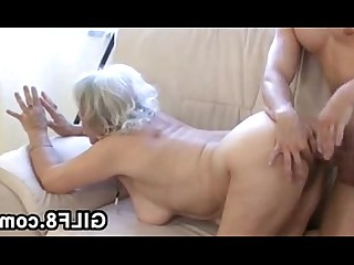 Slender Hardcore Granny Fuck BBW Old and Young Uniform Mature