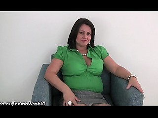 HD Innocent Mammy Masturbation Mature MILF Nylon Panties