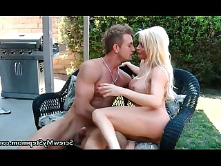 Blonde MILF Mature Ride Mammy Big Cock Cougar