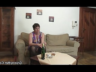 Granny Hot Mature Old and Young Pleasure Pussy Ride Slender
