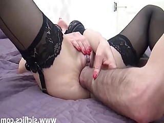 Kinky Hot Fuck Fisting Fetish Crazy Brunette Babe
