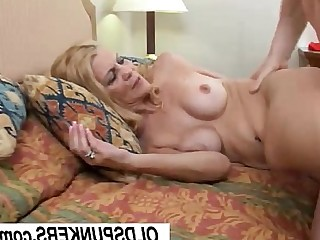 Mature MILF Slender Fuck Facials Hot Mammy Wife