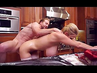 Kitchen Mature MILF Wife Big Tits Boobs Cougar