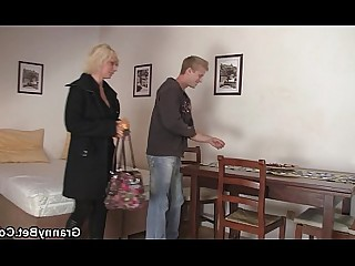Pleasure Pussy Old and Young Granny Slender Teen Blonde Mature