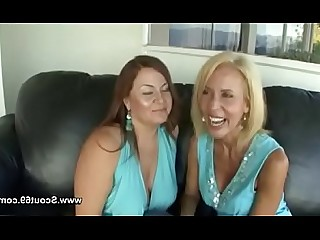 Granny Casting Dildo First Time Lesbian Mammy Mature Really