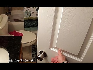 Bathroom Blowjob Big Cock Creampie Doggy Style Mammy MILF Seduced