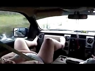 Amateur Car Granny Mature Nasty Orgasm Public