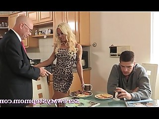 Blonde Hardcore Housewife Mammy Mature MILF Monster Wife