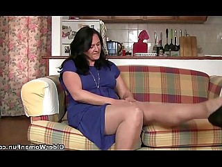 HD Mammy Masturbation Mature Pussy