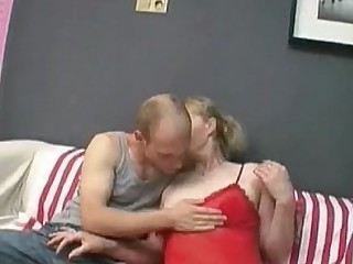 Blonde Facials Granny Hairy Mature