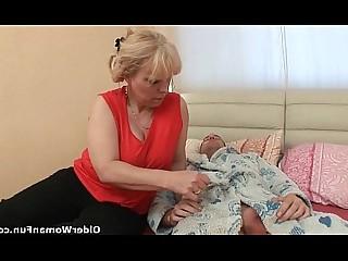 Mammy Mature MILF Anal Ass Fuck Granny HD