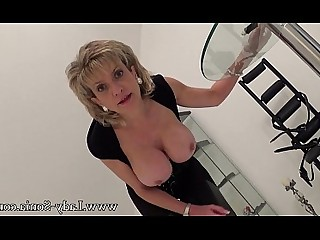 MILF Blonde Masturbation Mature