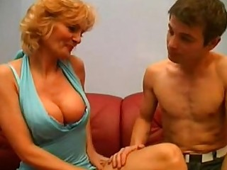 Double Penetration Granny Huge Cock Licking Mature MILF Oral Orgy