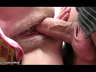 Teen Boyfriend Daughter Old and Young Fuck Mammy Mature Wife