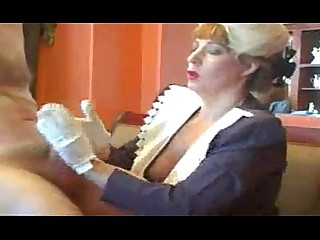 Nasty Mammy Handjob Mature