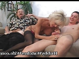 Blonde Blowjob Cougar Couple Cumshot Fantasy Masturbation Mature