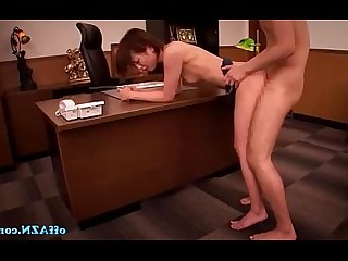 Hairy Hardcore Mature Boss Office Pussy Mouthful Uniform