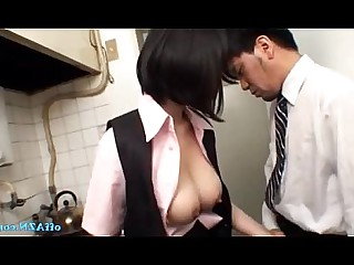 Skirt Stocking Uniform Blowjob Bus Busty Cum Cumshot