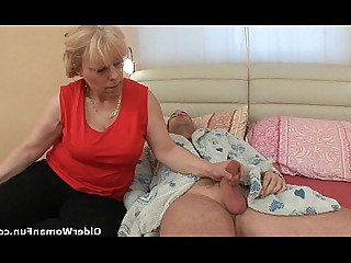 MILF Old and Young Teen Big Cock Cougar Cumshot Fatty Granny