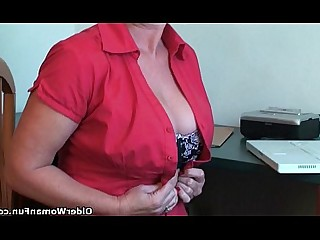 Mature Anal Mammy MILF Granny Playing