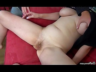 Granny Toys Threesome Teen Pussy Old and Young Nasty Mature