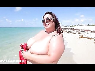 Mature MILF Fatty Fuck Beach BBW