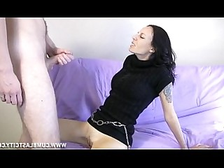 Brunette Cumshot Handjob Hot Jerking Masturbation Mature MILF
