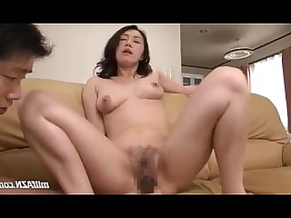 Fingering Nylon MILF Mammy Licking Fuck Hairy Panties