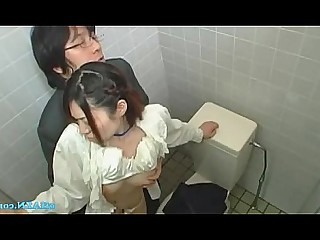 Toilet Sucking Stocking Pussy Oil Office Mature Licking