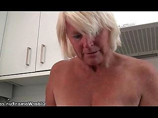 Anal Ass Dildo Granny Mammy Masturbation Mature Playing