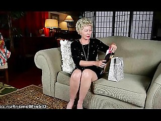 Nylon Granny Mammy Mature Panties Stocking