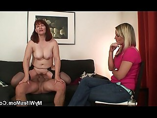 Mature Big Cock Daughter Mammy Ride