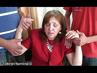 Granny Housewife Mammy Mature Office Old and Young Really Teen