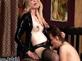 Blonde Tattoo Mature Threesome Lingerie Lesbian Big Tits Fetish