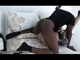 Interracial High Heels Hardcore Cumshot Blonde Big Tits Creampie Stocking