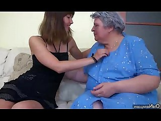 BBW Fatty Granny Hairy Mature Nasty Old and Young Pussy
