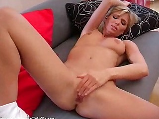 Babe Beauty Blonde Cougar Hot Masturbation MILF Solo