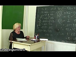 Classroom Fuck Granny Housewife Mammy Mature Old and Young Schoolgirl