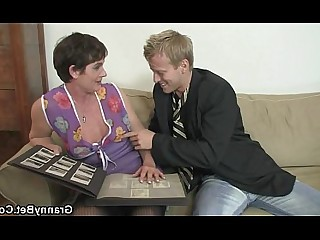 Granny Housewife Mammy Mature Old and Young Ride Teen Whore