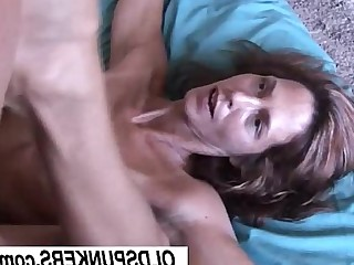Slender MILF Cumshot Housewife Hot Mammy Facials Cougar