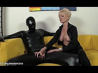 Handjob Jerking Mature Mistress Domination Granny Slave