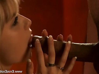 Blonde Blowjob Big Cock Couple Erotic Exotic Gorgeous Handjob