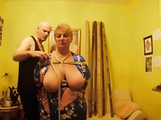 Amateur BDSM Big Tits Boobs Fetish Japanese Mammy Mature