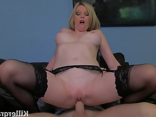 Angel Big Tits Blonde Blowjob Boobs Big Cock Cumshot Doggy Style