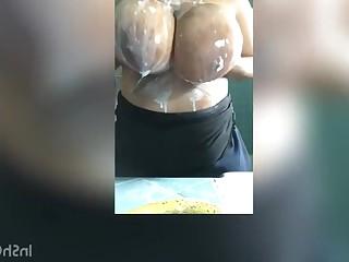 Big Tits Boobs Cumshot Ebony BBW Fuck Horny MILF