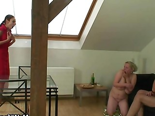 Fuck Granny Mammy Mature MILF Old and Young Teen Wife