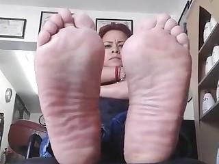 Feet Foot Fetish Mature