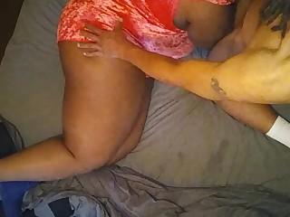 Amateur Ass Black Big Cock Ebony BBW Fatty Homemade