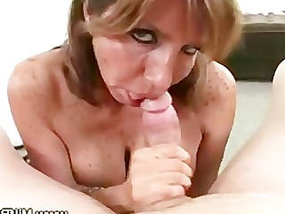 Amateur Blowjob Big Cock Housewife Mammy Mature MILF POV